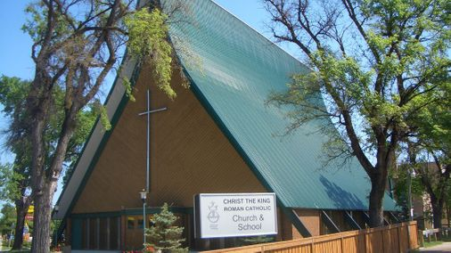 Christ the king church - metal roof